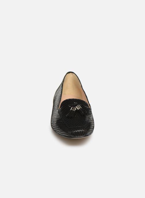 Mocassins Georgia Rose Sopona Noir vue portées chaussures