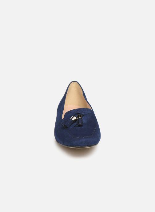 Mocassini Georgia Rose Sopona Azzurro modello indossato