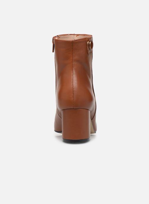 Bottines et boots Georgia Rose Salvino Marron vue droite