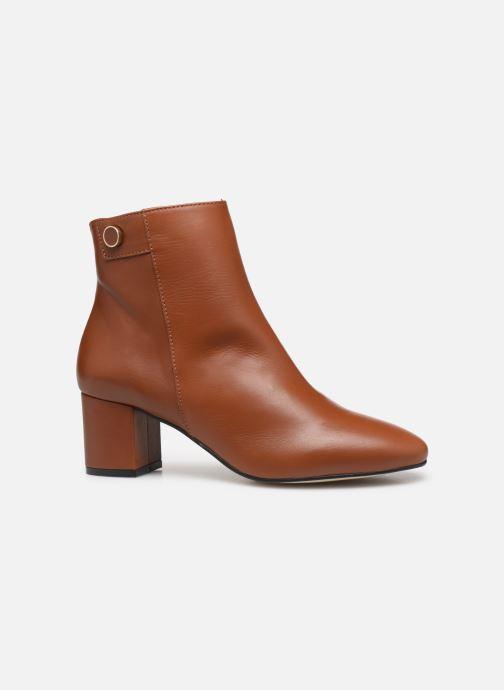 Bottines et boots Georgia Rose Salvino Marron vue derrière