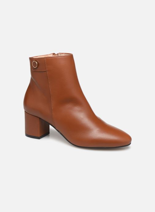Bottines et boots Georgia Rose Salvino Marron vue détail/paire