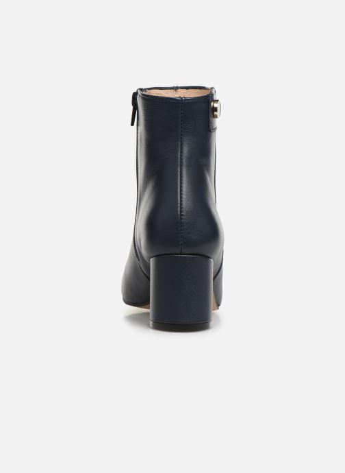 Bottines et boots Georgia Rose Salvino Bleu vue droite