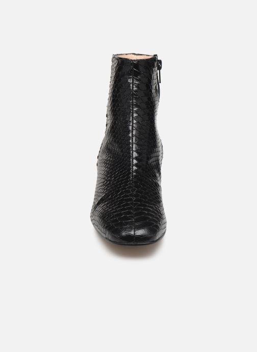 Bottines et boots Georgia Rose Simuna Noir vue portées chaussures