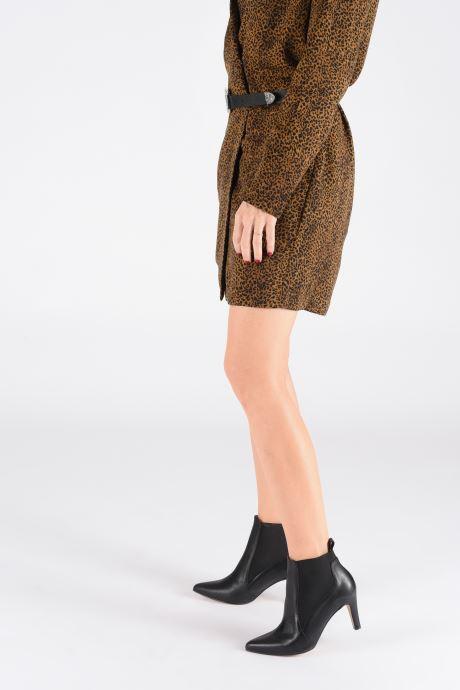 Stiefeletten & Boots Georgia Rose Silopi schwarz ansicht von unten / tasche getragen