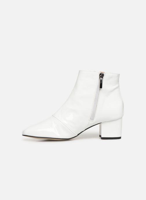 Bottines et boots Georgia Rose Seventian Blanc vue face