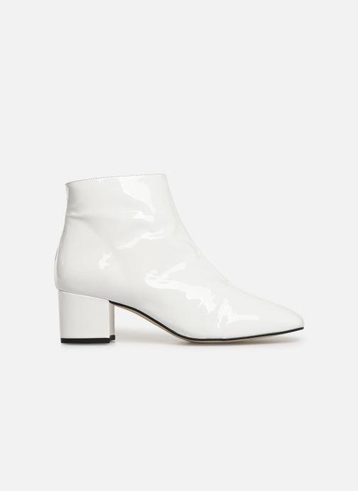 Bottines et boots Georgia Rose Seventian Blanc vue derrière