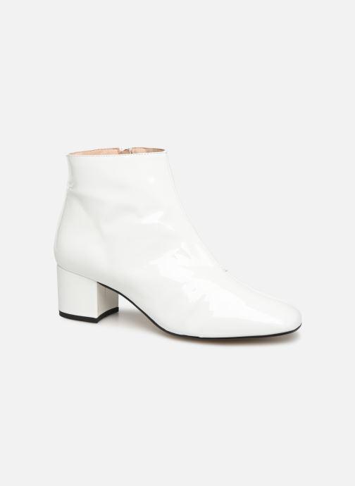 Bottines et boots Georgia Rose Seventian Blanc vue détail/paire