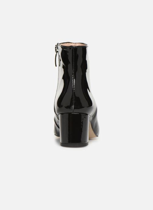 Bottines et boots Georgia Rose Seventian Noir vue droite
