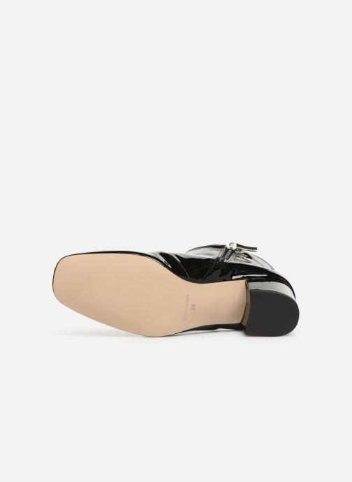 Bottines et boots Georgia Rose Seventian Noir vue haut