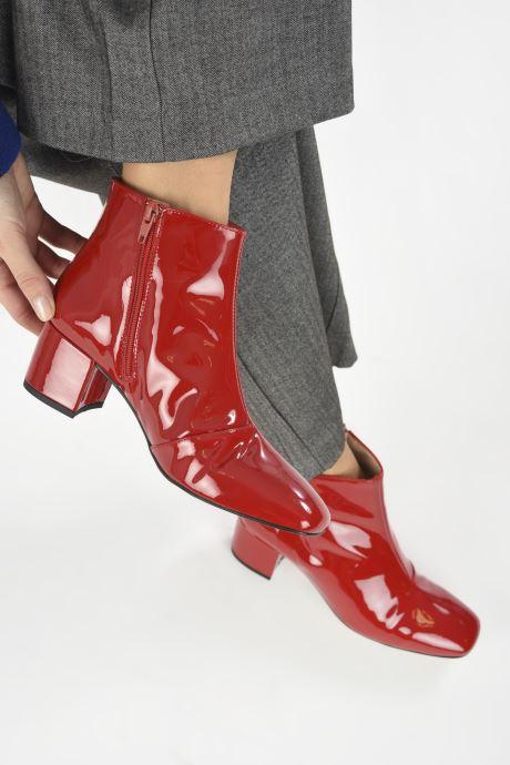 Boots en enkellaarsjes Georgia Rose Seventian Rood onder