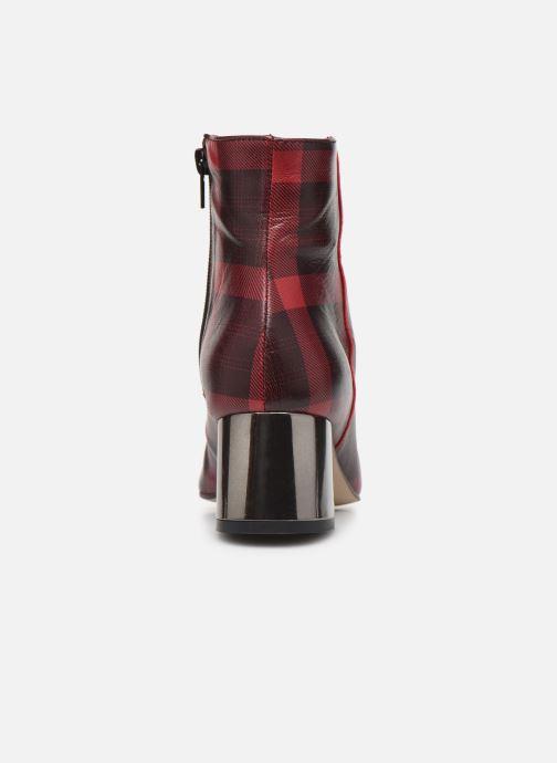 Bottines et boots Georgia Rose Soucara Rouge vue droite