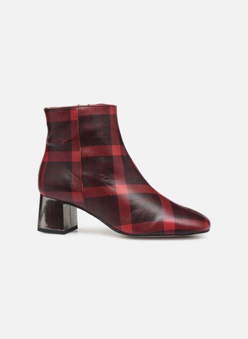 Bottines et boots Georgia Rose Soucara Rouge vue derrière