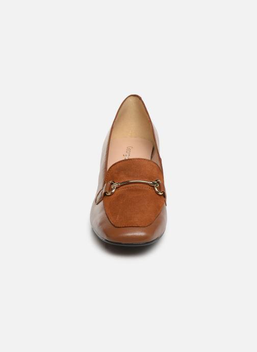 Escarpins Georgia Rose Somors Soft Marron vue portées chaussures