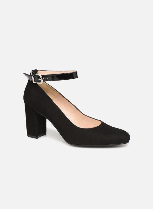 Høje hæle Georgia Rose Sogreta Soft Sort detaljeret billede af skoene