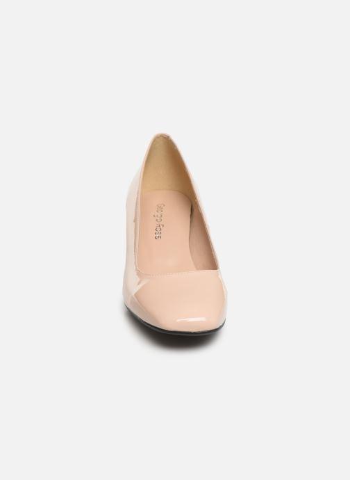 Zapatos de tacón Georgia Rose Sosquare Soft Beige vista del modelo