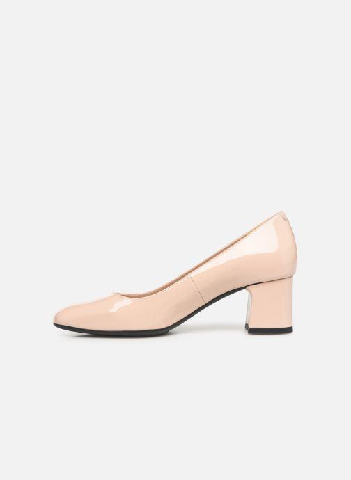 Zapatos de tacón Georgia Rose Sosquare Soft Beige vista de frente