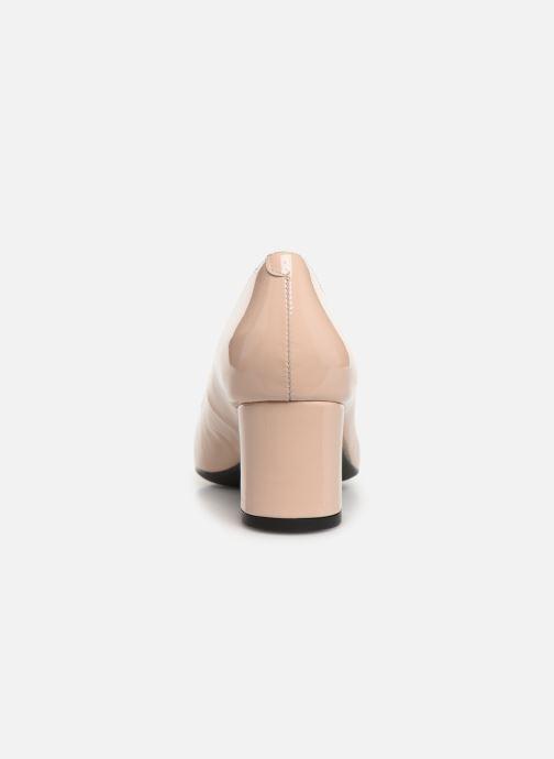 Zapatos de tacón Georgia Rose Sosquare Soft Beige vista lateral derecha