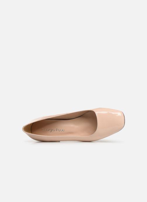 Zapatos de tacón Georgia Rose Sosquare Soft Beige vista lateral izquierda