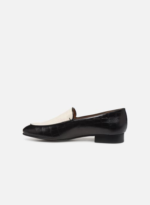 Loafers Flattered Donna C Black front view