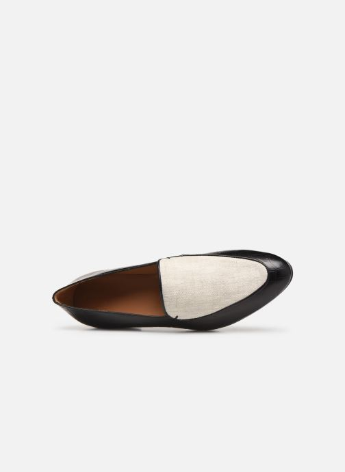 Loafers Flattered Donna C Black view from the left