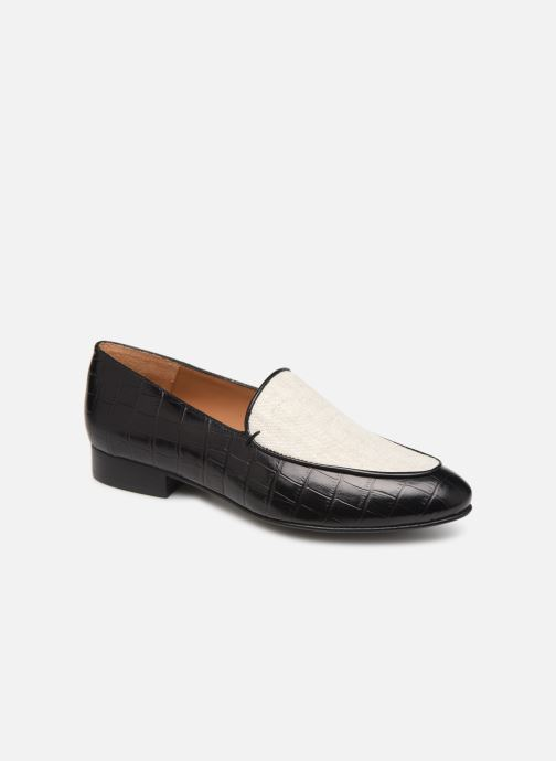 Loafers Flattered Donna C Black detailed view/ Pair view