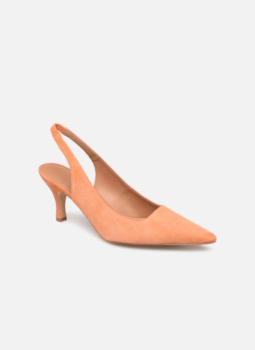 Escarpins Flattered Franchesca C Orange vue détail/paire