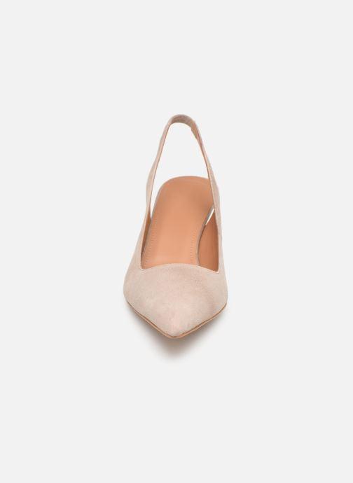 High heels Flattered Franchesca C Beige model view