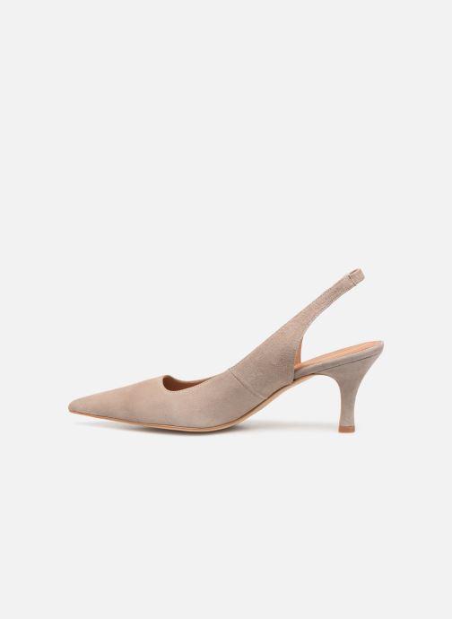 High heels Flattered Franchesca C Beige front view