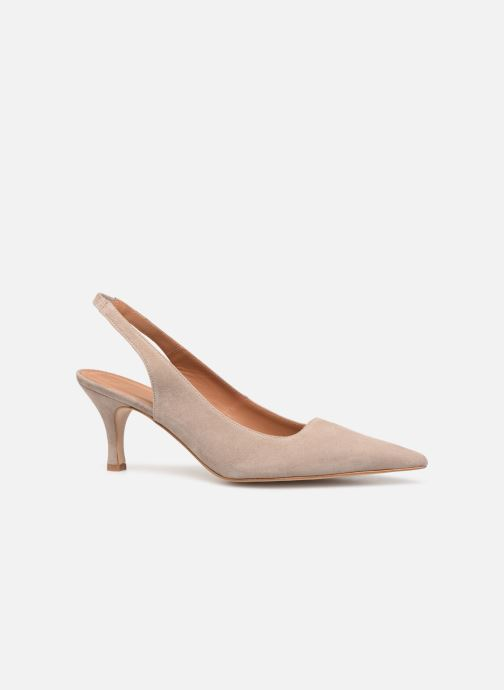 High heels Flattered Franchesca C Beige back view