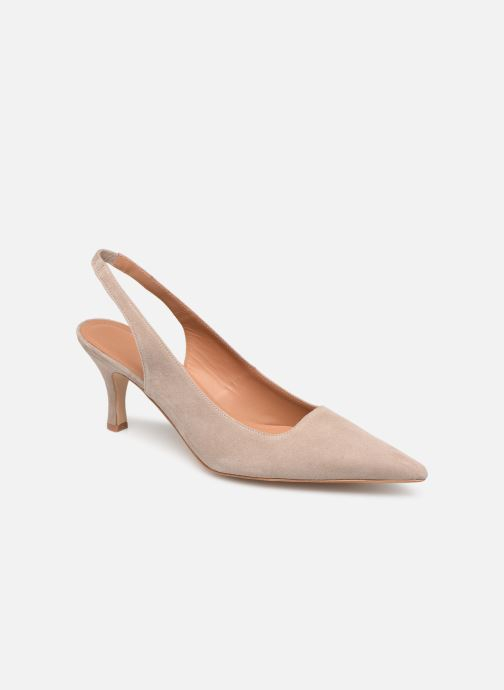 High heels Flattered Franchesca C Beige detailed view/ Pair view