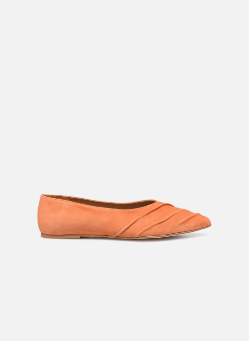 Ballet pumps Flattered Inez C Orange back view
