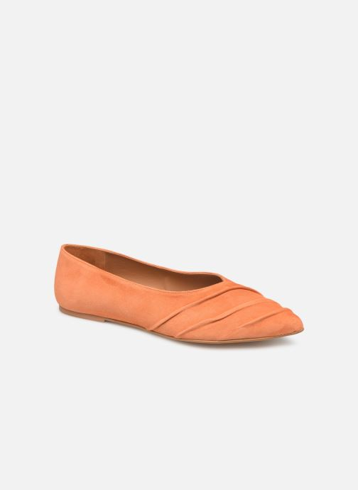 Ballet pumps Flattered Inez C Orange detailed view/ Pair view