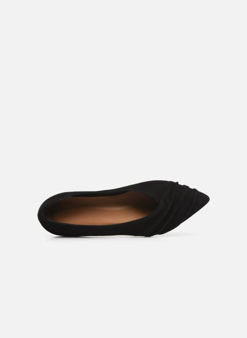 Ballet pumps Flattered Inez C Black view from the left
