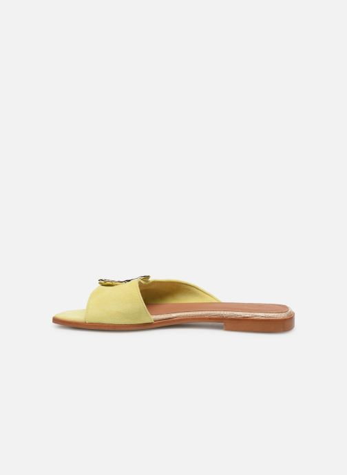Mules & clogs Flattered Misha C Yellow front view