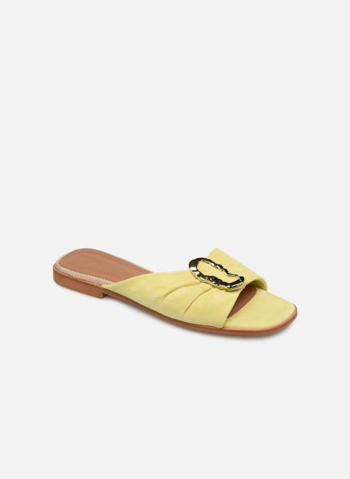 Mules & clogs Flattered Misha C Yellow detailed view/ Pair view