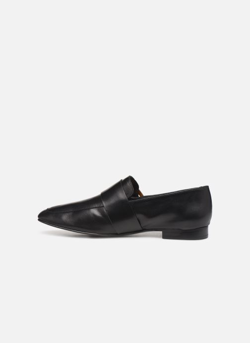 Loafers Flattered Vienna C Black front view
