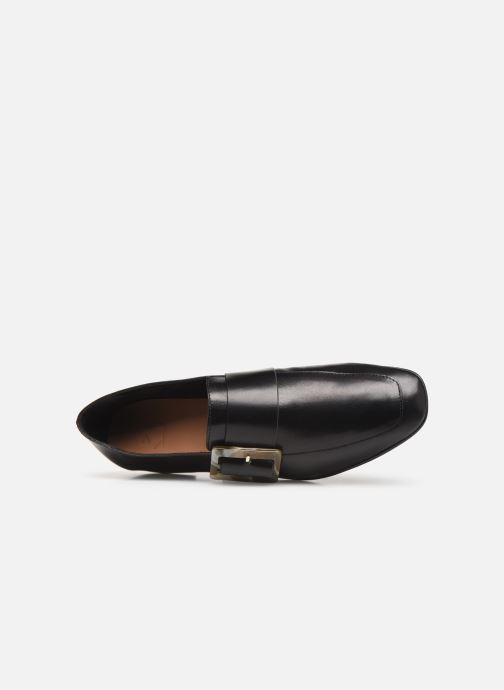 Loafers Flattered Vienna C Black view from the left