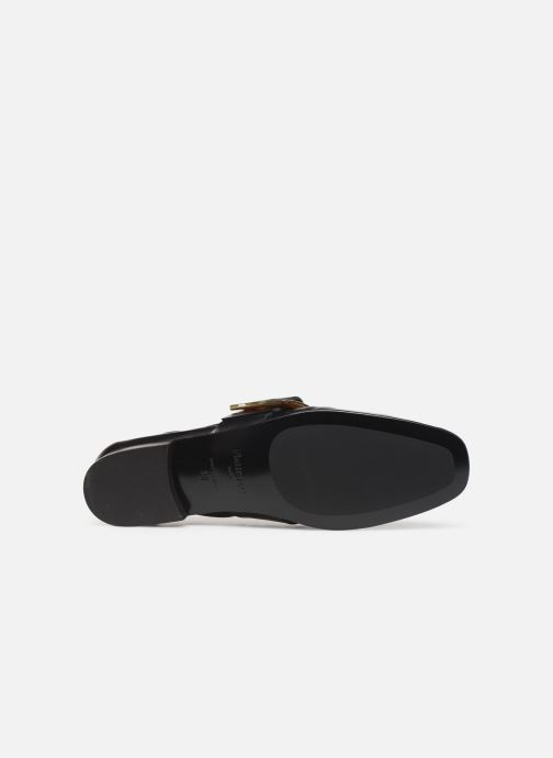 Loafers Flattered Vienna C Black view from above