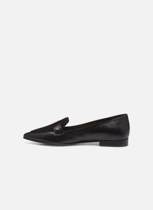 Loafers Flattered Alexandra II C Black front view