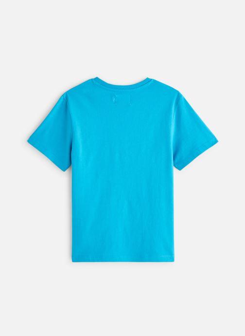 Vêtements Calvin Klein Monogram Oco Tee Bleu vue bas / vue portée sac