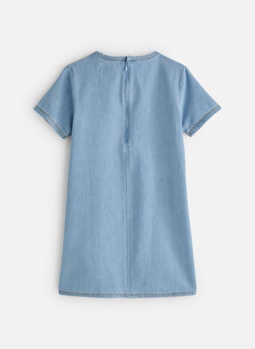 Vêtements Calvin Klein Monogram Dress Mid B Bleu vue bas / vue portée sac