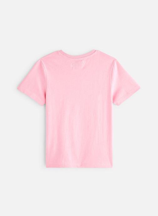 Vêtements Calvin Klein Monogram Oco Regular Rose vue bas / vue portée sac