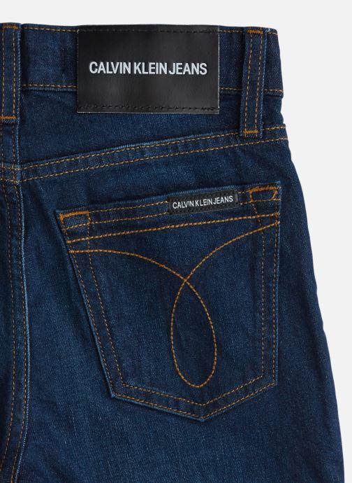 Vêtements Calvin Klein Tapered Vine Blue St Bleu vue portées chaussures