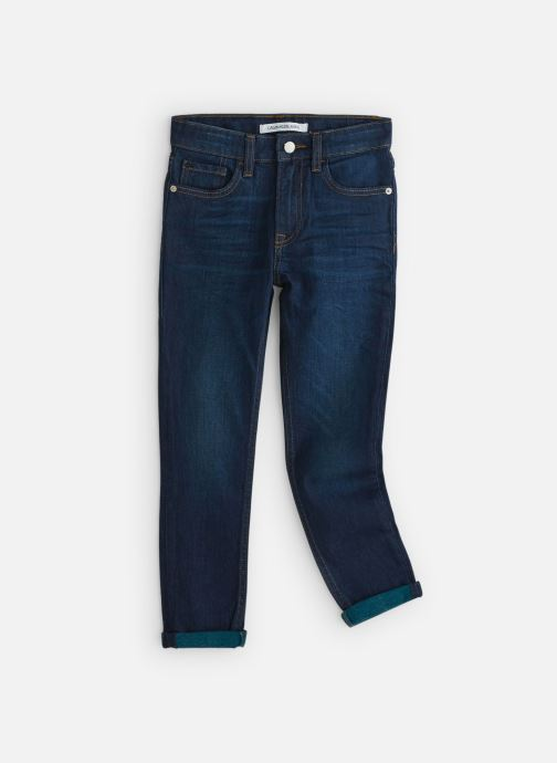 Vêtements Calvin Klein Tapered Vine Blue St Bleu vue détail/paire
