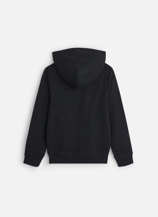 Vêtements Calvin Klein Monogram Terry Hoodi Noir vue bas / vue portée sac