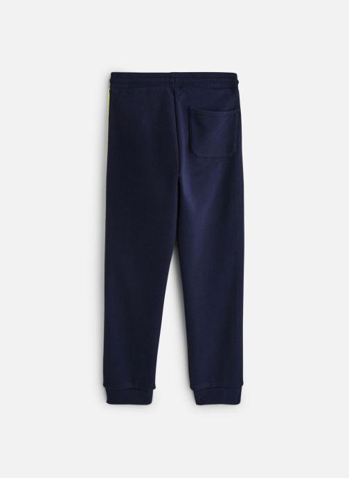 Vêtements Calvin Klein Neon Tape Sweatpants Bleu vue bas / vue portée sac