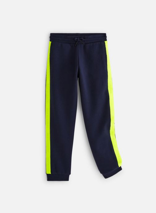 Vêtements Calvin Klein Neon Tape Sweatpants Bleu vue détail/paire