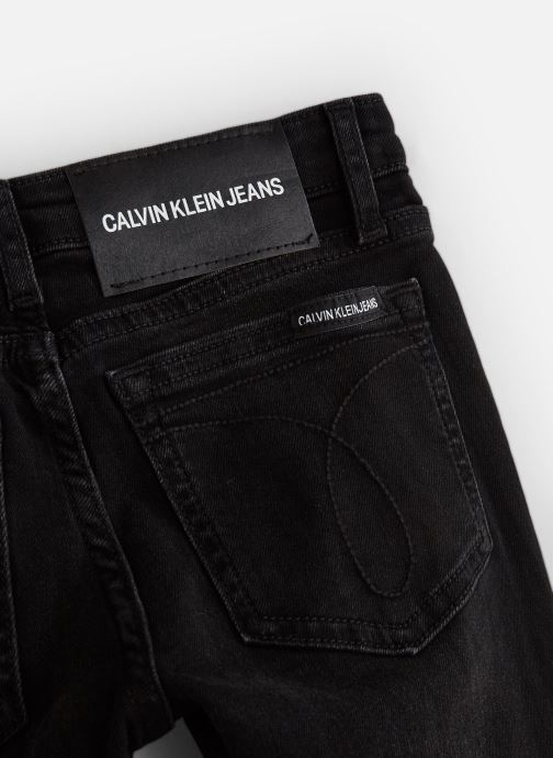 Kleding Calvin Klein Skinny Mr City Black Zwart model