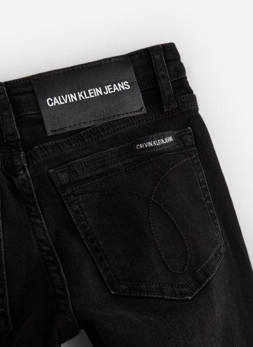 Vêtements Calvin Klein Skinny Mr City Black Noir vue portées chaussures