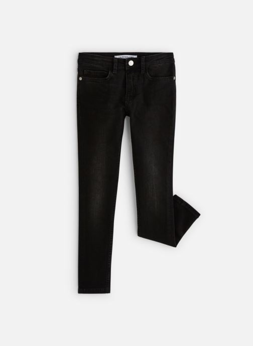 Kleding Calvin Klein Skinny Mr City Black Zwart detail